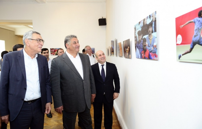 """Solidarity Games through the eyes of Azerbaijani photographers"" exhibition opened in Baku"
