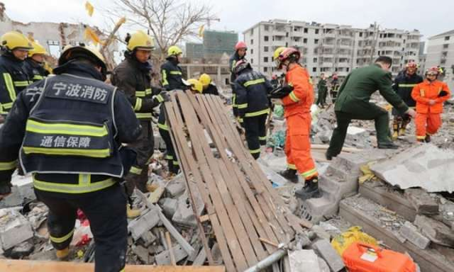Major explosion in Chinese port city kills at least two people