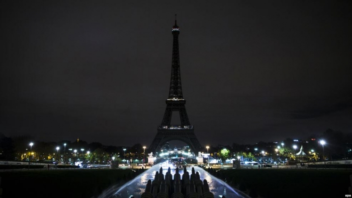 Eiffel Tower to go dark in solidarity with Tehran terror victims