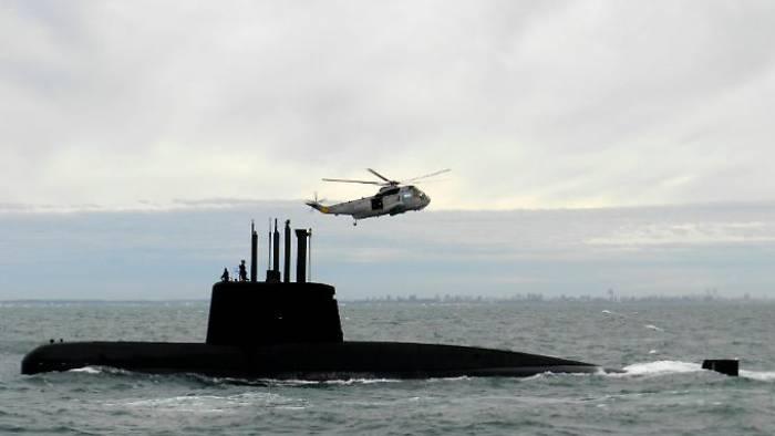 Militär empfängt mögliche Signale von U-Boot