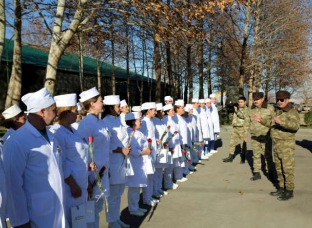 Defense Minister visited military medical institutions - PHOTOS