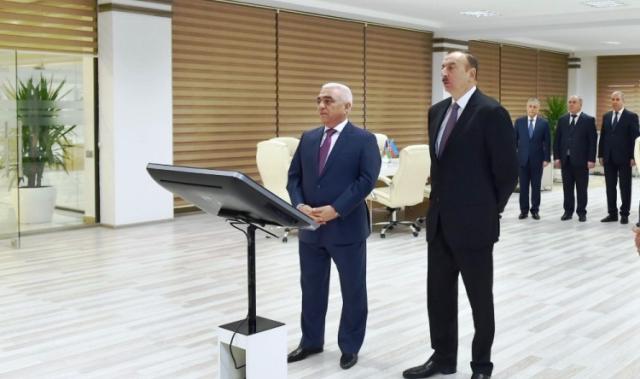Prezident yarımstansiyaları işə saldı - FOTOLAR