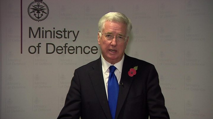Defence Secretary  Michael Fallon resigns, saying his conduct 'fell short'