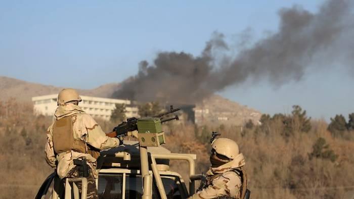 Angriff auf Kabuler Hotel ist vorüber