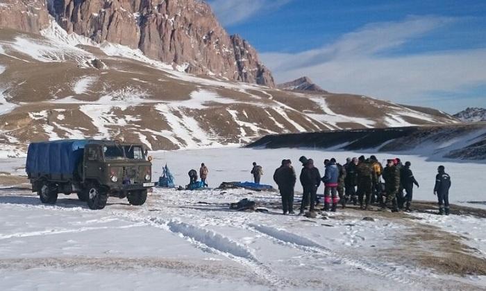 Alpinistlərin axtarışları davam etdirilir