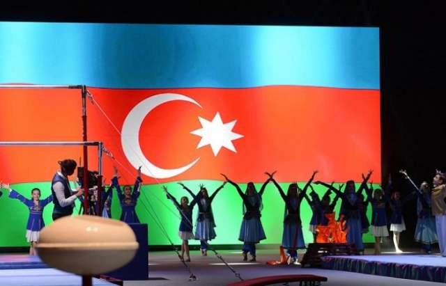 Baku hosts opening ceremony for FIG World Cup