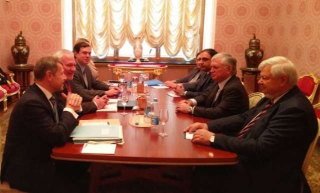 Armenian FM meets with OSCE MG co-chairs in Moscow