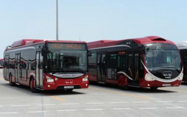 Bakıda bəzi avtobuslar xətdən kənarlaşdırılır