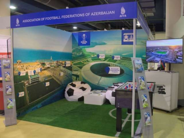 Azerbaijan's football achievements highlighted at 15th Football Market in Russia