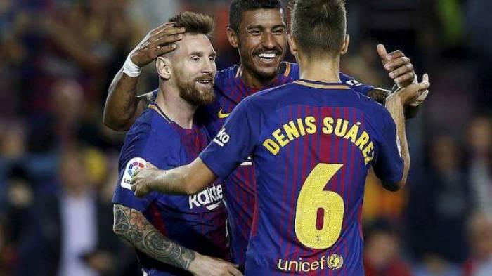 Le Barça écrase Eibar, Lionel Messi inscrit un quadruplé