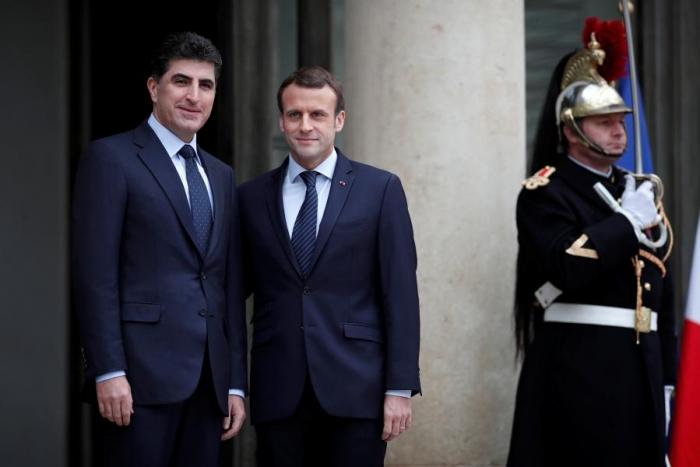 France's Macron calls on Iraq to dismantle all militias