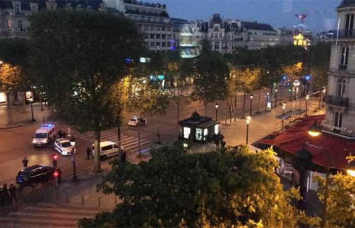 Two police officers shot in famous Champs Elysees area of Paris