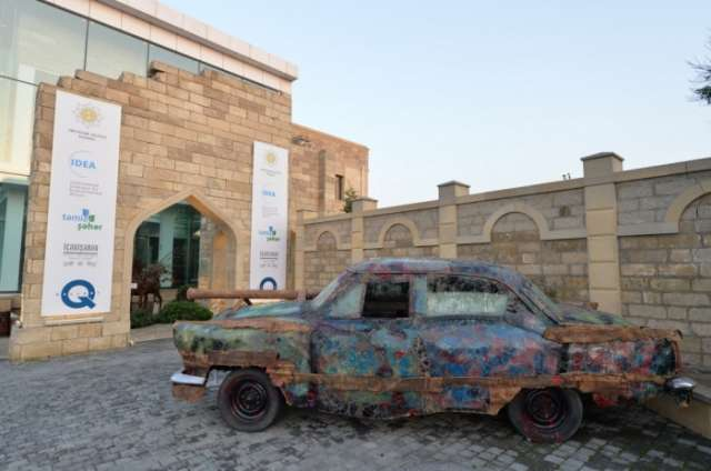 """Sixth international exhibition """"From waste to art"""" opens in Baku"""