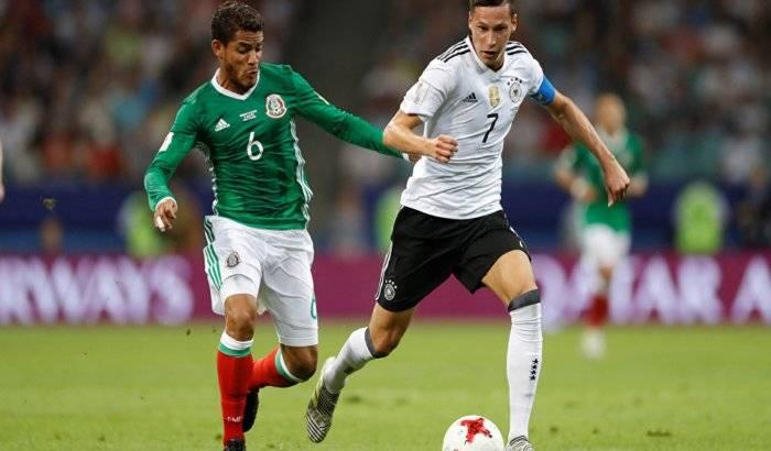 México cae ante Alemania en la semifinal de la Copa Confederaciones