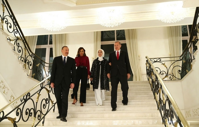 Erdogan congratulates Mehriban Aliyeva on appointment as First VP