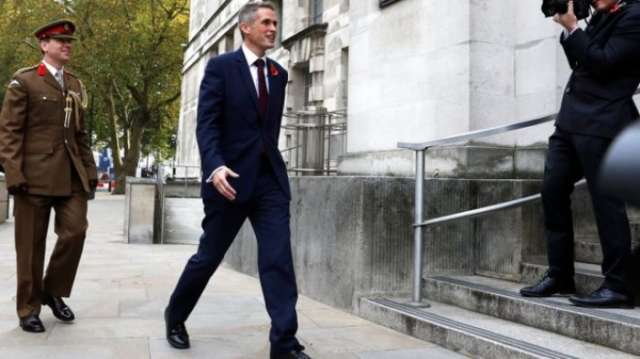 Gavin Williamson replaces Michael Fallon as defence secretary