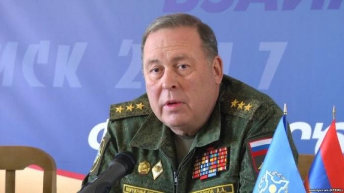 الفريق سيدوروف: سيكون الطمأنينة وسلام بين أذربيجان وأرمينيا