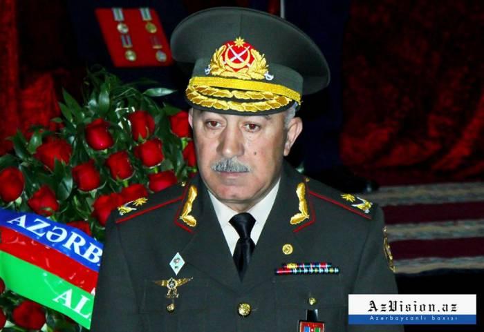 """General Rasim Əliyev: """"Düşməni susdurmaq üçün qoşunlarımız hazır vəziyyətdədir"""""""