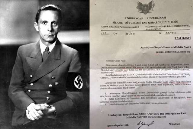"""""""Document"""" which made Goebbels turn in his grave - ANALYSIS"""