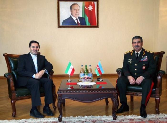 Zakir Həsənov İran səfiri ilə görüşüb