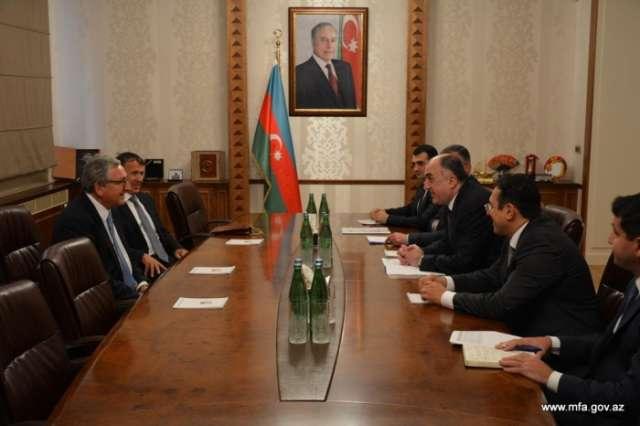 Mammadyarov meets Azerbaijan's honorary consuls in Austria