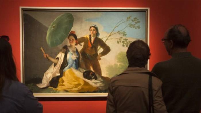 Diez obras de Goya del Prado se exhiben por primera vez en Oriente Próximo