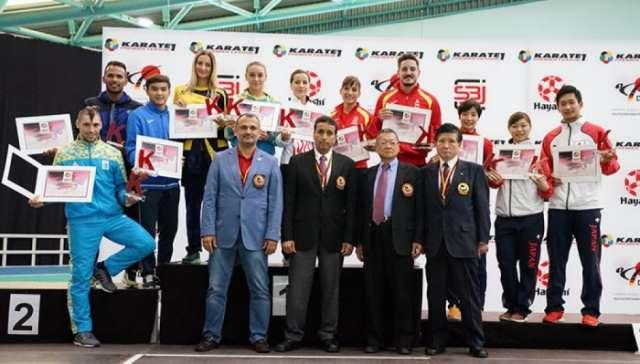 Azerbaijani female karate fighter crowned Grand Winner