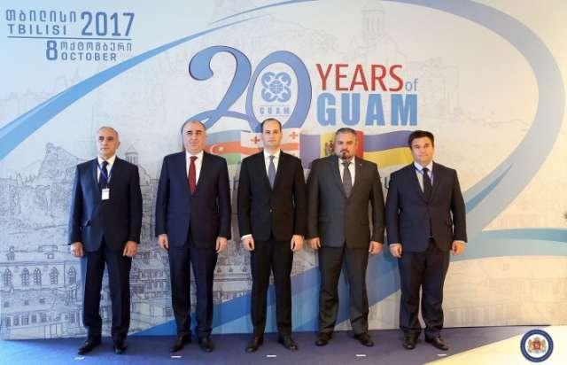 Georgia hosts meeting of FMs of GUAM member-states