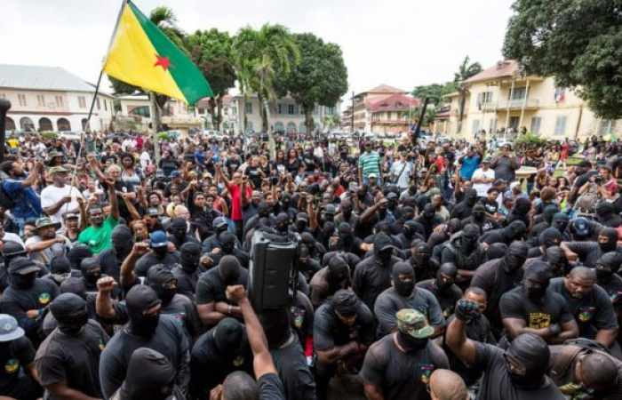French Guiana: The part of South America facing a total shutdown