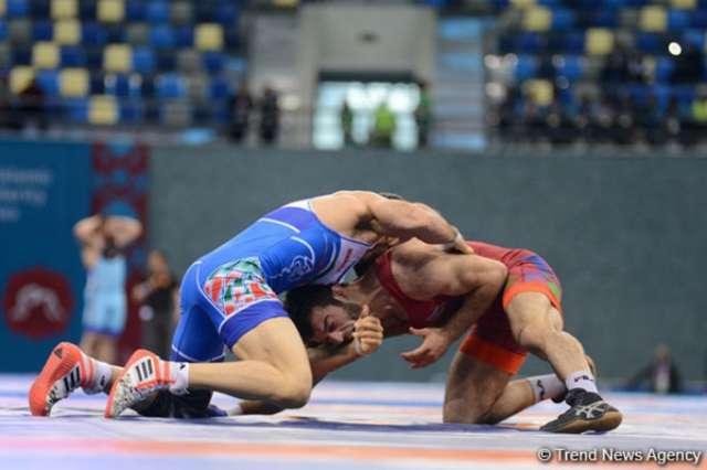 One more Azerbaijan's freestyle wrestler wins gold