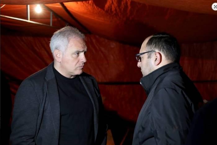 Gürcü nazir Çovdarovun güllələndiyi yerdə - Cinayət işi açıldı (VİDEO)