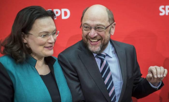 SPD zieht mit Nahles in die Opposition
