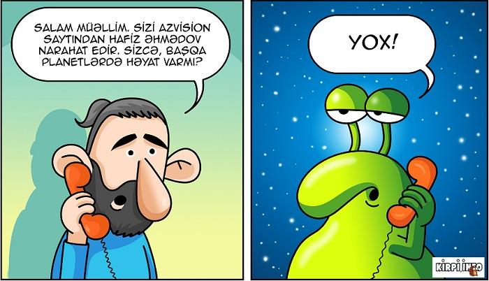 Azərbaycanda jurnalistin günü - KARİKATURA
