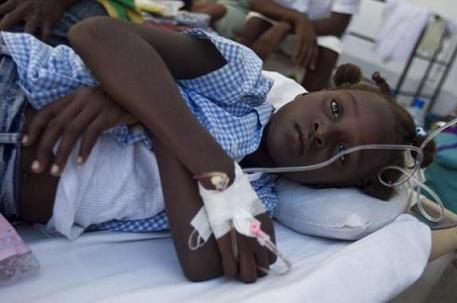 Haitidə vəba - FOTOLAR