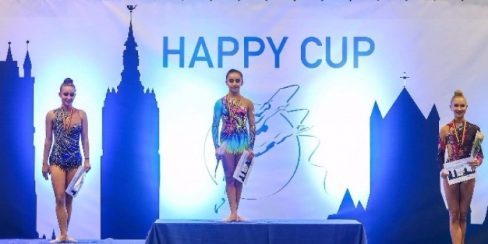 Azerbaijani gymnast wins 5 medals at Happy Cup in Belgium