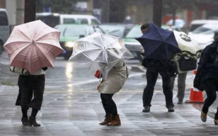Bu günün havası - Yağış, qar, külək