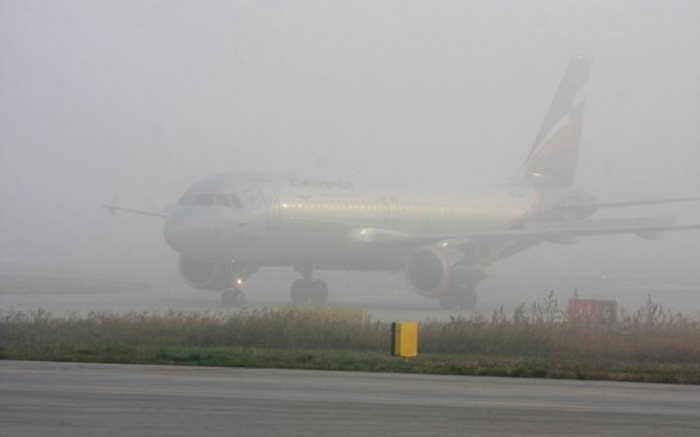 Heavy fog has no impact on Baku Airport's activity