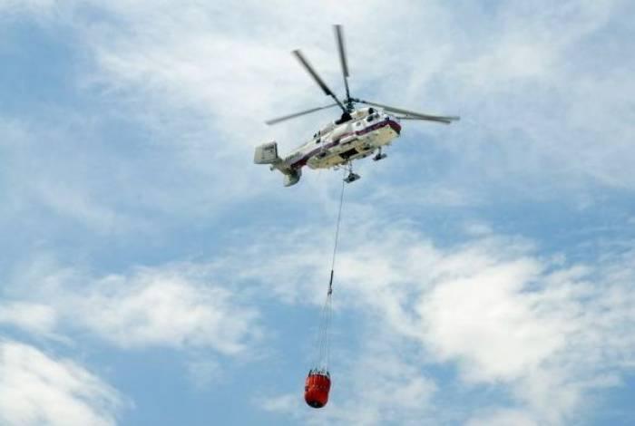 Azərbaycan Gürcüstana ikinci helikopteri göndərib