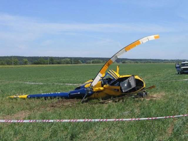 1 dead, another hospitalized after Australian helicopter crash