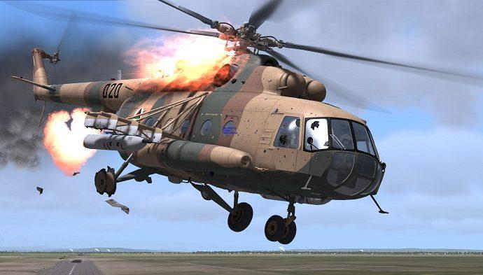 Hərbi helikopter qəzaya uğrayıb - 10 ölü