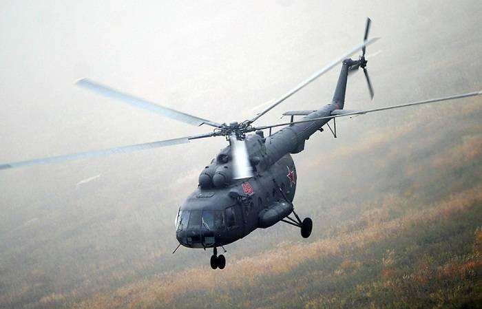 Rusiyada helikopter qəzaya uğrayıb