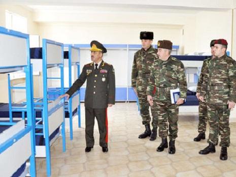 Yeni komandan Zaqatalada