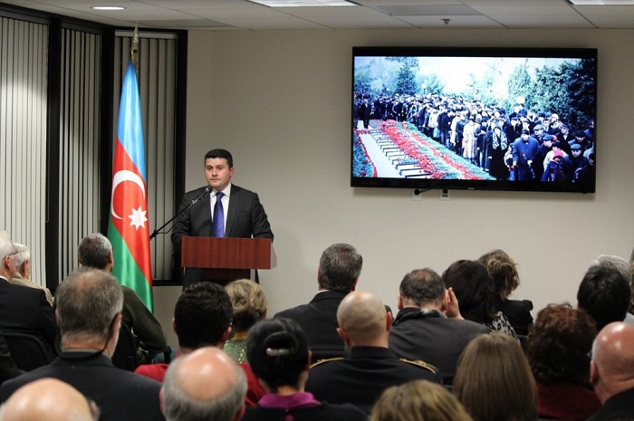 Azerbaijani heroes remembered in Los Angeles
