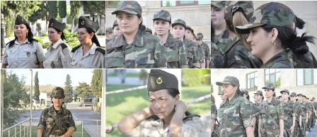 Azərbaycanda qadınlara hərbi bilet veriləcək