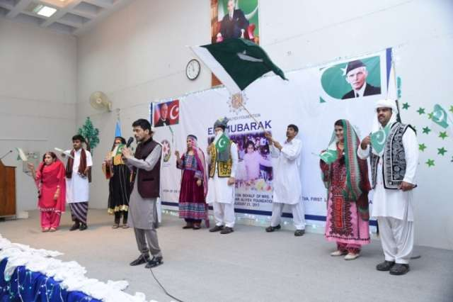 Heydar Aliyev Foundation distributes gifts to children with special needs in Pakistan
