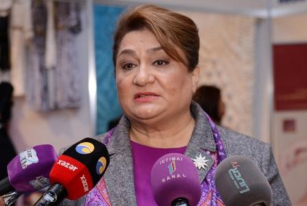 Hicran Hüseynova AŞPA-nın nümayəndəsi ilə görüşüb