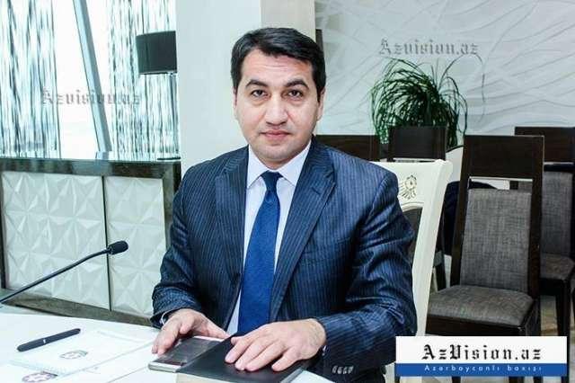 "There is no word like ""Kochari"" in Armenian - Hikmat Hajiyev"