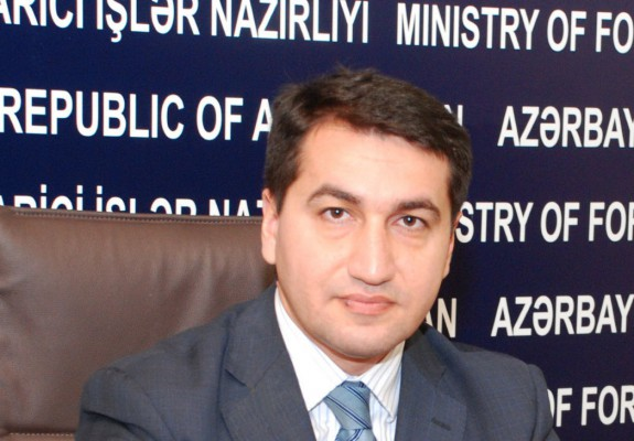 "Hajiyev: European parliamentarians should investigate activities of those involved in Armenia's ""cognac diplomacy"""