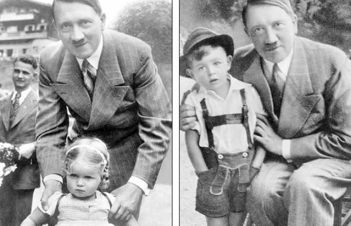 what was hitlers earlier childhood days like