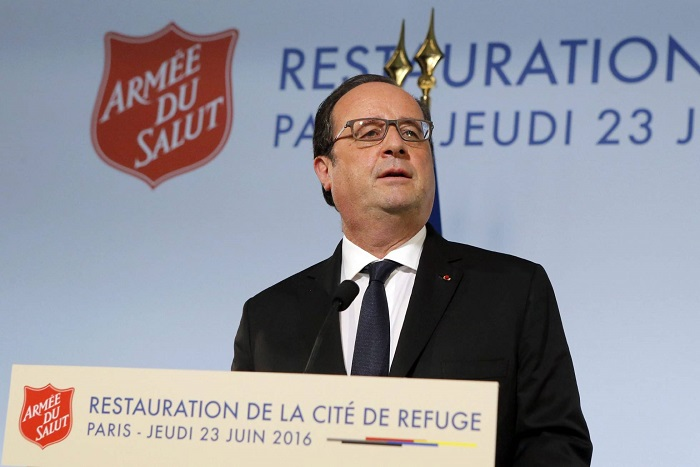 French President Francois Hollande ends working visit to Azerbaijan